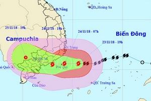 Thời tiết 24/11: Nam Bộ có nguy cơ lốc xoáy do cơn bảo số 9; Hà Nội không mưa, ngày nắng
