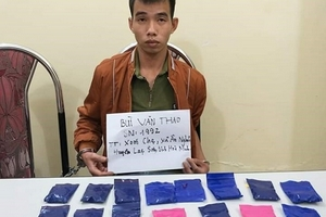 Sơn La: Bắt thanh niên mua bán ma túy tổng hợp