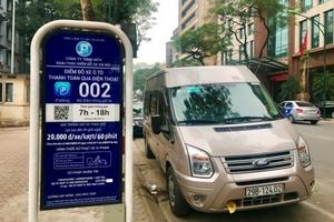 Bãi đỗ xe thông minh iParking ở Hà Nội: Nhiều bất cập?