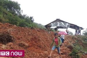 Quảng Ngãi vẫn đối mặt với nguy cơ lở núi