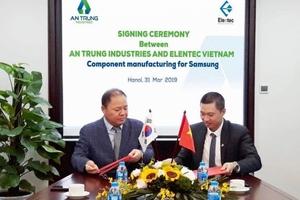 An Phát Holdings chính thức gia nhập chuỗi cung ứng cho Samsung