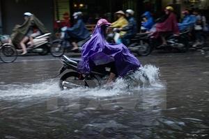 Bắc Bộ mưa dông, Tây Nguyên nguy cơ cao xảy ra lũ quét, sạt lở đất