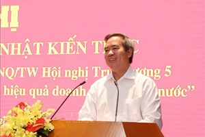 Tiếp tục cơ cấu lại, đổi mới và nâng cao hiệu quả doanh nghiệp nhà nước