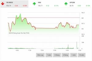 Chứng khoán chiều 7/8: Cổ phiếu vốn hóa lớn đua nhau giảm sâu