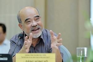 """GS. Đặng Hùng Võ: """"Chế độ sử dụng đất có thời hạn làm cho người sử dụng có trách nhiệm hơn"""""""