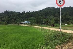 Quảng Bình: Chủ tịch xã dùng ngân sách làm đường dẫn vào nhà mình