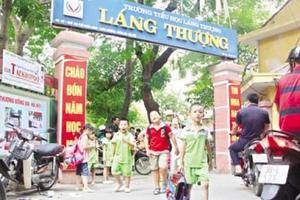4 gói thầu xây trường học tại Đống Đa, Hà Nội đã chọn được nhà thầu