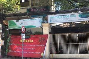 """Vụ """"xẻ đất"""" làm nhà hàng tại quận Tân Bình: Đất công có tiếp tục """"biến hình""""?"""