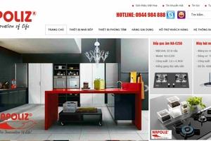 Lùm xùm thông tin Công ty cổ phần Quốc tế Việt Hoa làm giả nhãn hiệu mặt bếp
