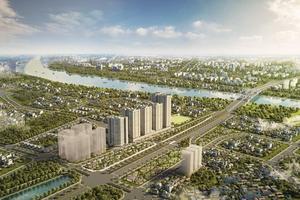 """Thành phố mới với những công trình """"vươn tầm thế kỷ"""" bên sông Hồng"""