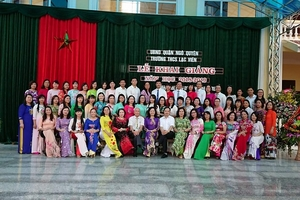 TRƯỜNG THCS LẠC VIÊN (NGÔ QUYỀN, HẢI PHÒNG): Môi trường giáo dục thân thiện, chất lượng và hiệu quả