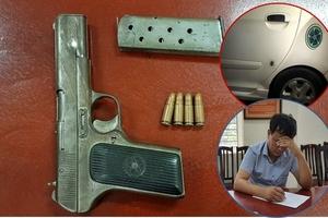 Hà Nội: Tạm giữ đối tượng dùng súng dọa giết người ở bến xe Mỹ Đình