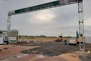Dự án Baria Residence: Công ty Việt Holdings và chiêu thức 'tung hỏa mù'?