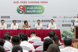 VTV2 ra mắt chương trình Vì sức khoẻ người Việt