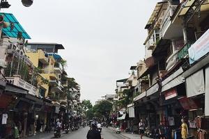 Báo động tình trạng mất an toàn ở những căn nhà phố cổ xuống cấp