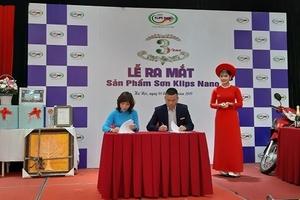 Sơn Klips NaNo ra mắt sản phẩm mới