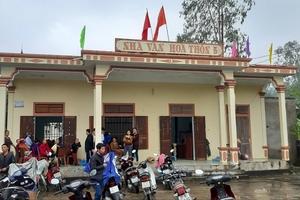 UBND phường Quỳnh Xuân, thị xã Hoàng Mai, Nghệ An: Thị xã đang thanh tra - Phường vẫn ép dân nộp?