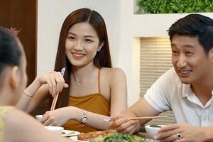 'Hoa hồng trên ngực trái' tập 22, Trà bị Thái đánh vì lộ chuyện mang thai con gái
