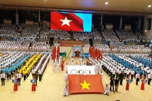 Hà Tĩnh: Khai mạc Đại hội thể dục thể thao lần thứ VIII