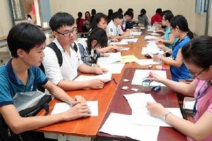 Thi THPT quốc gia: Những lưu ý khi đăng ký hồ sơ
