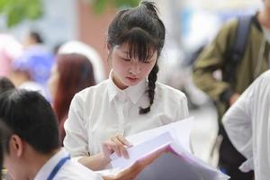 Thí sinh không được xét tốt nghiệp nếu bỏ bài thi tổ hợp