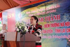 Khánh thành và bàn giao Điểm trường Nà Nọi - Trường tiểu học số 2 Thị trấn Tân Uyên
