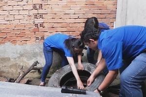 Hà Nội: Phạt 2 triệu đồng một hộ kinh doanh không chịu phòng chống sốt xuất huyết