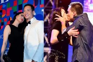 Kim Lý và những nụ hôn nóng bỏng với 3 kiều nữ quyến rũ nhất nhì Vbiz