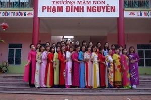 Trường Mầm non Phạm Đình Nguyên (huyện Tiên Lãng, TP. Hải Phòng): Điểm sáng trong công tác giáo dục, chăm sóc trẻ