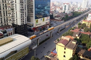 Đường sắt Cát Linh - Hà Đông lùi tiến độ thêm 11 tháng
