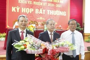 Ông Phan Ngọc Thọ được bầu làm Chủ tịch UBND  tỉnh Thừa Thiên – Huế