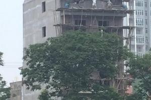Kiểm điểm lãnh đạo xã Thanh Liệt vì để công trình xây sai phép