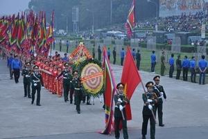 Lãnh đạo Đảng, Nhà nước dâng hương các Vua Hùng năm Đinh Dậu 2017