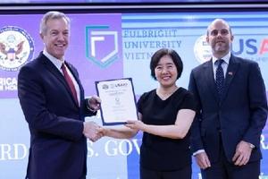 Đại học Fulbright nhận tài trợ 15,5 triệu USD từ chính phủ Mỹ