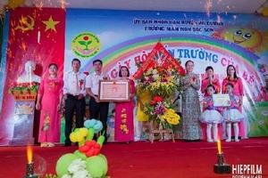 Hải Phòng: Trường Mầm non Bắc Sơn khai giảng năm học mới và đón nhận trường chuẩn quốc gia