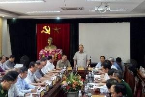 Thủ tướng Chính phủ kiểm tra khắc phục bão số 10 tại Hà Tĩnh