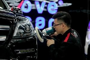 Trải nghiệm dịch vụ chăm sóc và làm đẹp xe hơi chuyên nghiệp tại LoveCar AutoSpa