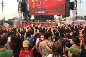 Những 'điểm sáng' không thể quêntrong đêm vinh danh U23 Việt Nam tại TP.HCM