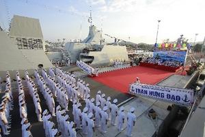 Hải Quân Việt Nam chính thức đưa 2 tàu Hộ vệ tên lửa Gepard 3.9 vào hoạt động