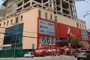 Công trình sai phép còn cho thuê mở siêu thị