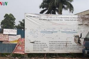 Đất dự án ở Hà Nội thành bãi chứa phế thải, điểm tiêm chích ma túy