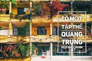 Những khung hình đẹp như phim của khu nhà cũ Quang Trung