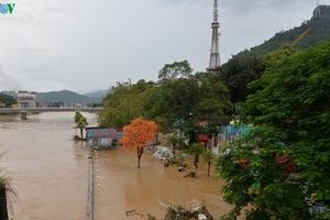 Chùm ảnh: Hà Giang còn ngổn ngang sau khi nước lũ rút