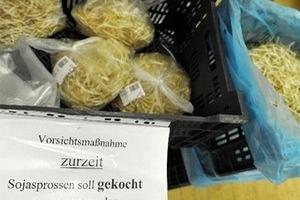 Giá đỗ là thủ phạm gây bệnh đường ruột ở Đức