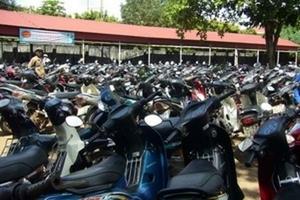 Cục Thuế Hà Nội đề xuất mức thu phí xe máy, ôtô mới