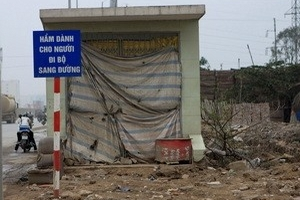 Hầm bộ hành, cầu vượt ở Hà Nội chưa đạt hiệu quả
