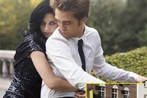 """Pattinson và Stewart """"mi"""" nhau ngay ngoài phố"""
