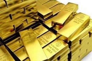 Giá vàng giảm 3,6 USD xuống còn 1.826,50 USD/ounce