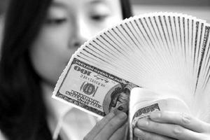 Tỷ giá bình quân liên ngân hàng lại có bước tăng mạnh