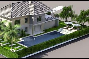 Chào bán biệt thự vườn tại Long An giá 2,6 triệu đồng/m2
